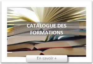 catalogue des formations, page d'accueil
